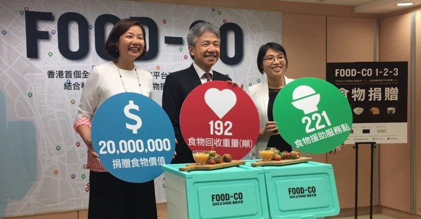 Online Platform Helps To Feed Hong Kong's Needy