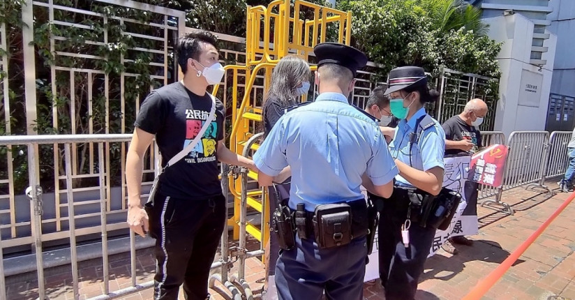 Stay Out Of HK Polls, Protesters Tell Beijing
